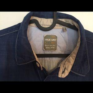 True Grit Shirts - True Grit Woven button down